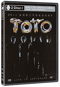 Cover Toto - 25th Anniversary - Live In Amsterdam [DVD]